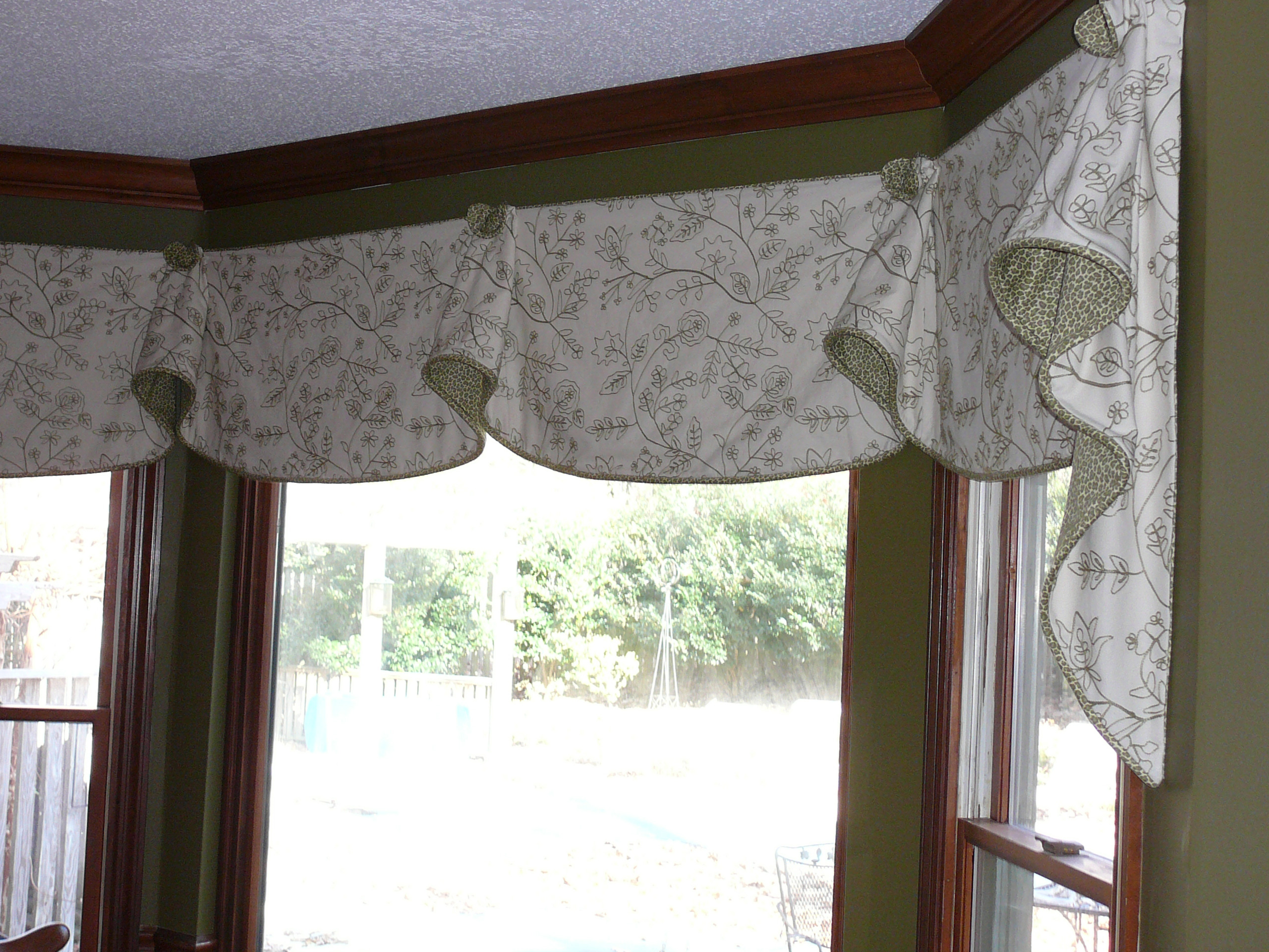 madison over tier garden embellished product laverne park shipping home faux scallop valances solid lined silk orders on valance free overstock